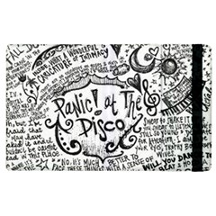 Panic! At The Disco Lyric Quotes Apple Ipad 3/4 Flip Case by Onesevenart