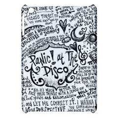 Panic! At The Disco Lyric Quotes Apple Ipad Mini Hardshell Case by Onesevenart