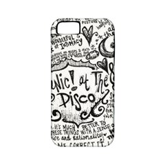 Panic! At The Disco Lyric Quotes Apple Iphone 5 Classic Hardshell Case (pc+silicone) by Onesevenart