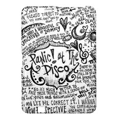 Panic! At The Disco Lyric Quotes Kindle Fire Hd 8 9  by Onesevenart