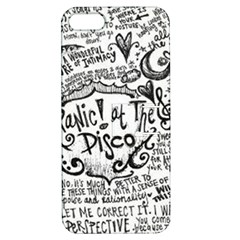 Panic! At The Disco Lyric Quotes Apple Iphone 5 Hardshell Case With Stand by Onesevenart