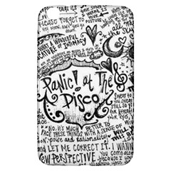 Panic! At The Disco Lyric Quotes Samsung Galaxy Tab 3 (8 ) T3100 Hardshell Case  by Onesevenart