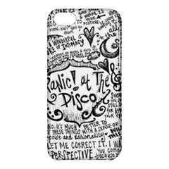 Panic! At The Disco Lyric Quotes Apple Iphone 5c Hardshell Case by Onesevenart