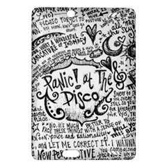 Panic! At The Disco Lyric Quotes Amazon Kindle Fire Hd (2013) Hardshell Case by Onesevenart