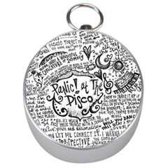 Panic! At The Disco Lyric Quotes Silver Compasses by Onesevenart