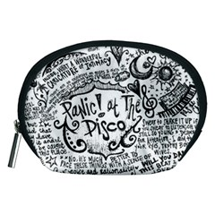 Panic! At The Disco Lyric Quotes Accessory Pouches (medium)  by Onesevenart