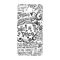 Panic! At The Disco Lyric Quotes Samsung Galaxy Alpha Hardshell Back Case by Onesevenart