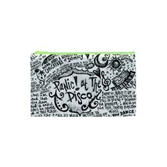 Panic! At The Disco Lyric Quotes Cosmetic Bag (xs) by Onesevenart