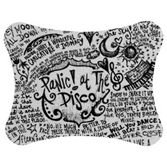 Panic! At The Disco Lyric Quotes Jigsaw Puzzle Photo Stand (bow) by Onesevenart