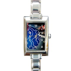 Panic! At The Disco Released Death Of A Bachelor Rectangle Italian Charm Watch by Onesevenart