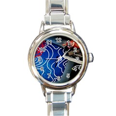 Panic! At The Disco Released Death Of A Bachelor Round Italian Charm Watch by Onesevenart