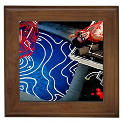 Panic! At The Disco Released Death Of A Bachelor Framed Tiles by Onesevenart