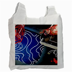 Panic! At The Disco Released Death Of A Bachelor Recycle Bag (two Side)  by Onesevenart