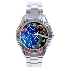 Panic! At The Disco Released Death Of A Bachelor Stainless Steel Analogue Watch by Onesevenart