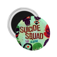 Panic! At The Disco Suicide Squad The Album 2 25  Magnets by Onesevenart