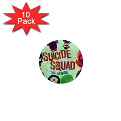 Panic! At The Disco Suicide Squad The Album 1  Mini Magnet (10 Pack)  by Onesevenart