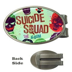 Panic! At The Disco Suicide Squad The Album Money Clips (oval)  by Onesevenart