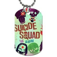 Panic! At The Disco Suicide Squad The Album Dog Tag (one Side) by Onesevenart