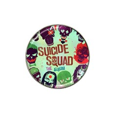 Panic! At The Disco Suicide Squad The Album Hat Clip Ball Marker (4 Pack) by Onesevenart