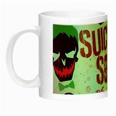 Panic! At The Disco Suicide Squad The Album Night Luminous Mugs by Onesevenart