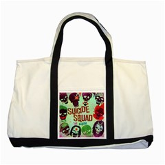 Panic! At The Disco Suicide Squad The Album Two Tone Tote Bag by Onesevenart