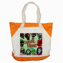 Panic! At The Disco Suicide Squad The Album Accent Tote Bag by Onesevenart