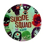 Panic! At The Disco Suicide Squad The Album Round Ornament (Two Sides)