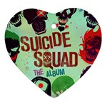Panic! At The Disco Suicide Squad The Album Heart Ornament (Two Sides)