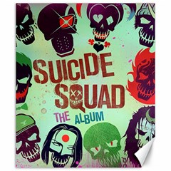 Panic! At The Disco Suicide Squad The Album Canvas 20  X 24   by Onesevenart