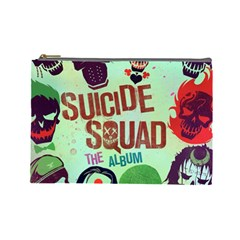 Panic! At The Disco Suicide Squad The Album Cosmetic Bag (large)  by Onesevenart