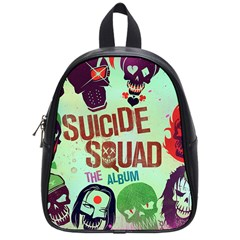 Panic! At The Disco Suicide Squad The Album School Bags (small)  by Onesevenart