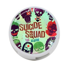 Panic! At The Disco Suicide Squad The Album 4 Port Usb Hub (one Side) by Onesevenart