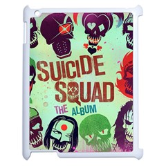 Panic! At The Disco Suicide Squad The Album Apple Ipad 2 Case (white) by Onesevenart