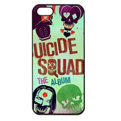 Panic! At The Disco Suicide Squad The Album Apple Iphone 5 Seamless Case (black) by Onesevenart