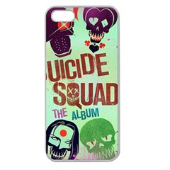 Panic! At The Disco Suicide Squad The Album Apple Seamless Iphone 5 Case (clear) by Onesevenart