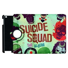 Panic! At The Disco Suicide Squad The Album Apple Ipad 3/4 Flip 360 Case by Onesevenart