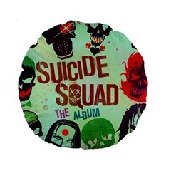 Panic! At The Disco Suicide Squad The Album Standard 15  Premium Round Cushions by Onesevenart