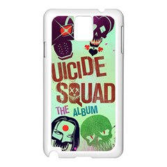 Panic! At The Disco Suicide Squad The Album Samsung Galaxy Note 3 N9005 Case (white) by Onesevenart