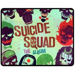 Panic! At The Disco Suicide Squad The Album Double Sided Fleece Blanket (medium)  by Onesevenart