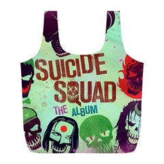 Panic! At The Disco Suicide Squad The Album Full Print Recycle Bags (l)  by Onesevenart