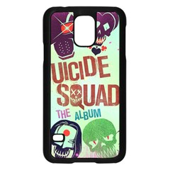 Panic! At The Disco Suicide Squad The Album Samsung Galaxy S5 Case (black) by Onesevenart