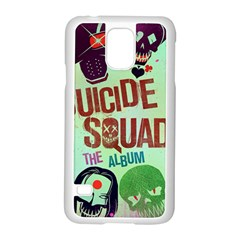 Panic! At The Disco Suicide Squad The Album Samsung Galaxy S5 Case (white) by Onesevenart