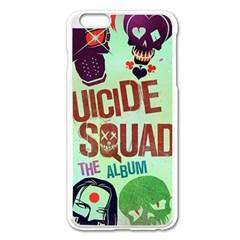 Panic! At The Disco Suicide Squad The Album Apple Iphone 6 Plus/6s Plus Enamel White Case by Onesevenart