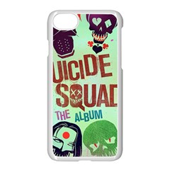 Panic! At The Disco Suicide Squad The Album Apple Iphone 7 Seamless Case (white) by Onesevenart