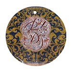 Panic! At The Disco Ornament (Round)
