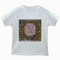 Panic! At The Disco Kids White T Shirts by Onesevenart