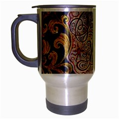 Panic! At The Disco Travel Mug (silver Gray) by Onesevenart