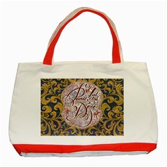 Panic! At The Disco Classic Tote Bag (red) by Onesevenart