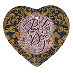 Panic! At The Disco Heart Ornament (Two Sides)