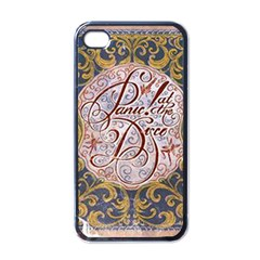 Panic! At The Disco Apple Iphone 4 Case (black) by Onesevenart